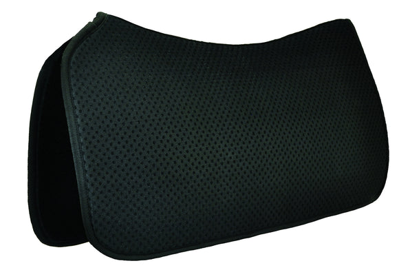Ventilated 'HD' Western Pad - Western Saddle Pads - Equine Comfort Products