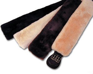 Girth Cover - Sheepskin - Girth Covers - Equine Comfort Products