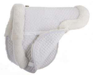 All Purpose Sheepskin Saddle Pad - Sheepskin & Wool Saddle Pads - Equine Comfort Products