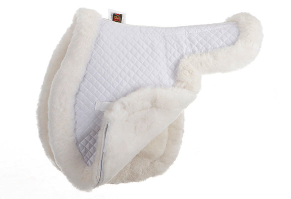 Close Contact Sheepskin Pad - Fully Lined - Saddle Pads - Equine Comfort Products