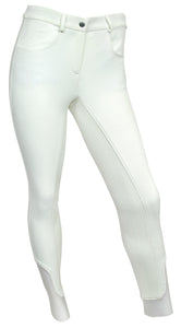 RideTex® Full Seat Competition Breeches - White - RideTex Apparel - Equine Comfort Products