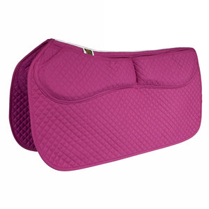 Western Cotton Correction Saddle Pad - Cotton Western Saddle Pads - Equine Comfort Products