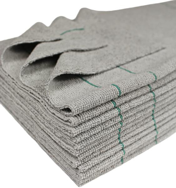 Antimicrobial Silver Microfiber Towels - 12 Pack - Grooming & Accessories - Equine Comfort Products