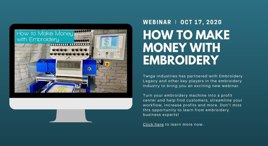 Make Money with Embroidery