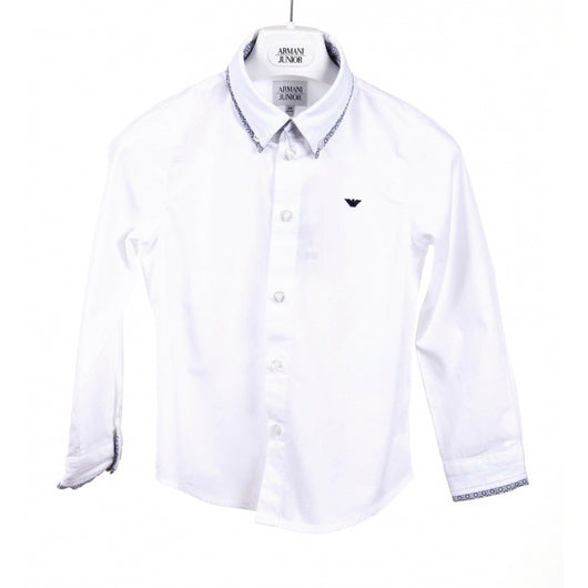 Armani Junior boys shirt CXC11 GJ 10 - Haute Milan