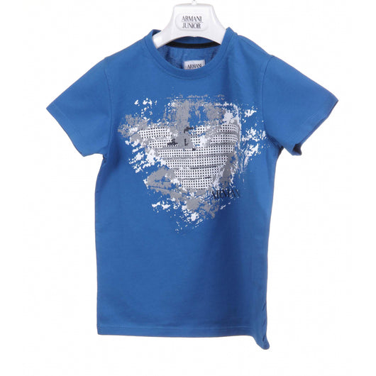 Armani Junior boys t-shirt CXH05 2F 63 - Haute Milan