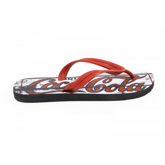 Coca Cola mens flip flop CCA0127 OLD RED - Haute Milan