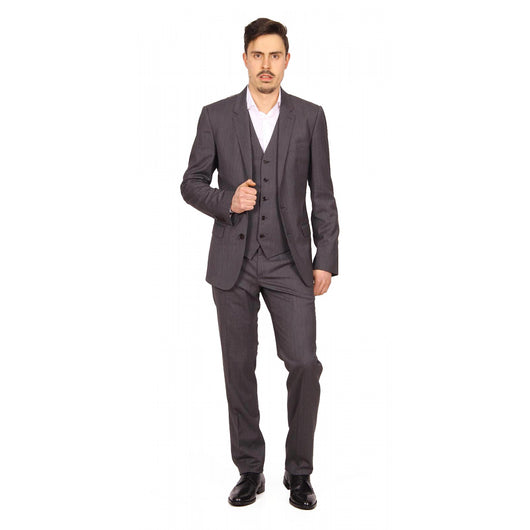 Dolce & Gabbana Martini mens suit with gilet G1HNMT FUBBG S8291 - Haute Milan
