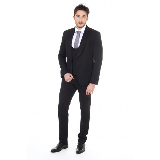 Dolce & Gabbana mens suit with gilet G1KAMT G9Y36 N0000 - Haute Milan