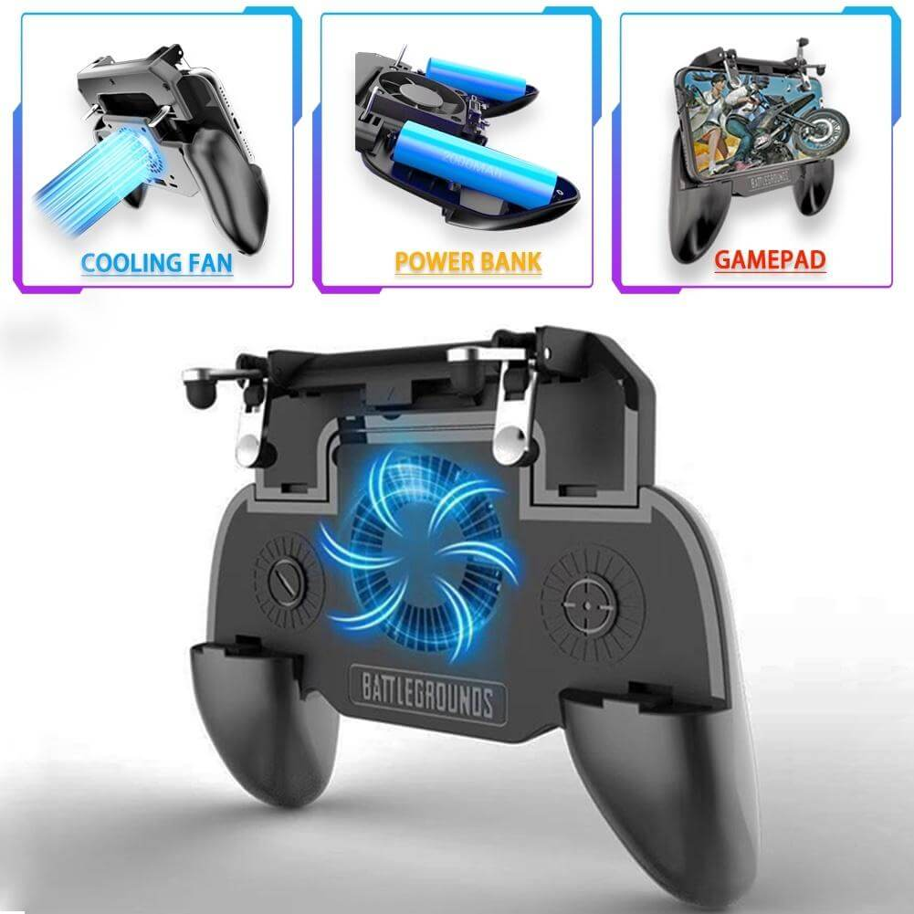 Mobile Gaming Controller/Trigger for PUBG/Fortnite/Rules of Survival Gaming Grip