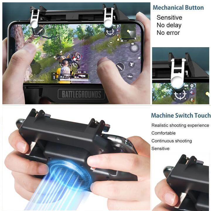 Mobile Gaming Controller/Trigger for PUBG/Fortnite/Rules of Survival