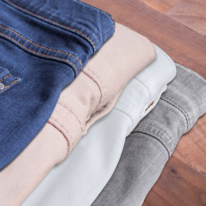 Robuster Stretch Denim für kurvige Frauen
