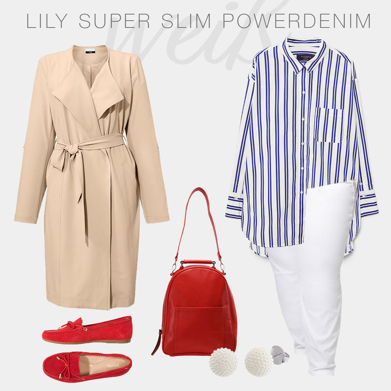 LILY SUPER SLIM Inspiration: Klassischer City Look
