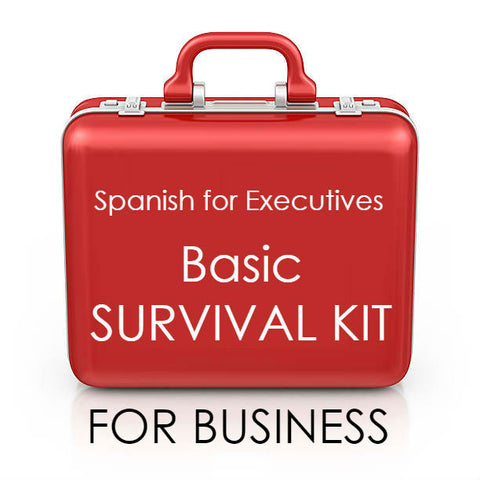 Basic survival kit for business / Spanish for Executives