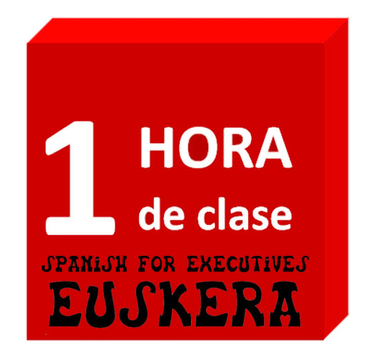 Euskera / Basque language lesson : 1 hour. Spanish for Executives