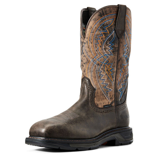 Ariat Workhog XT Coil Woodsmoke Carbon Toe