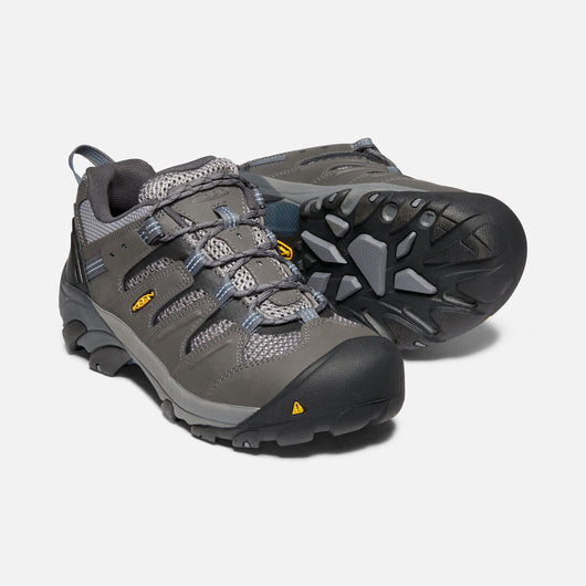 KEEN Men's Lansing Low Grey Steel Toe EH 1023204