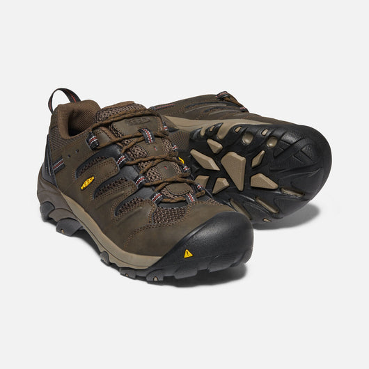 KEEN Men's Lansing Low Brown Steel Toe EH 1023205