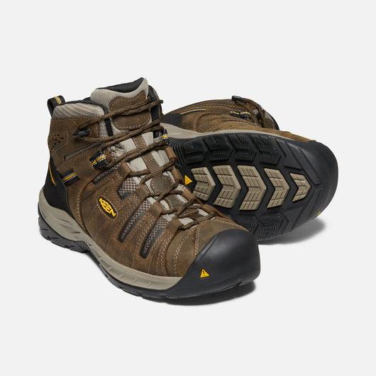 KEEN Men's Flint II Mid Steel Toe