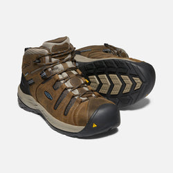 KEEN Men's Flint II Waterproof Mid Steel Toe