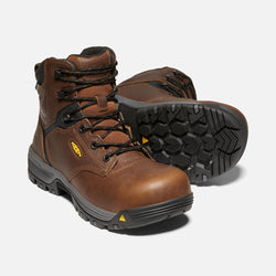 KEEN Women's Chicago Mid Brown Carbon Fibre Toe EH 1024195