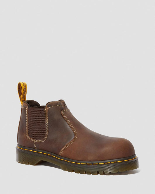 Dr. Martens Furness Brown Steel Toe 24608200