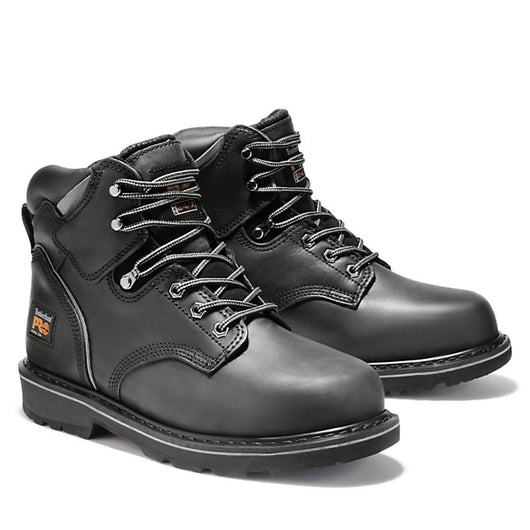 Timberland Pro Men's Pit Boss Black Steel Toe EH