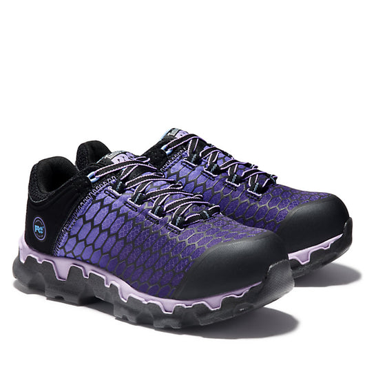 Timberland Pro Women's Powertrain Sport Purple Alloy Toe ESD A1H1S