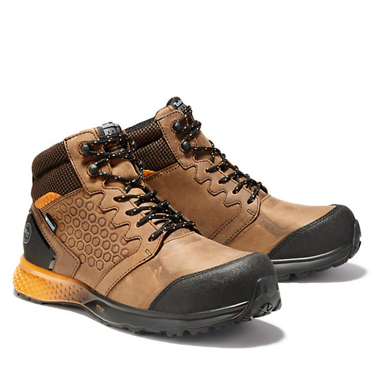 Timberland Pro Men's Reaxion Mid Waterproof Comp. Toe EH A1ZR1
