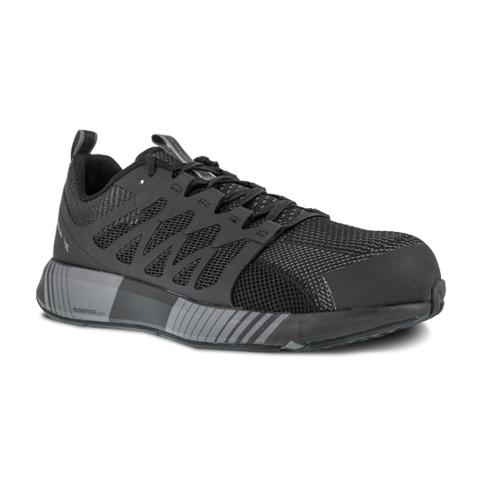 Reebok Men's Fusion Flexweave Black Comp. Toe EH