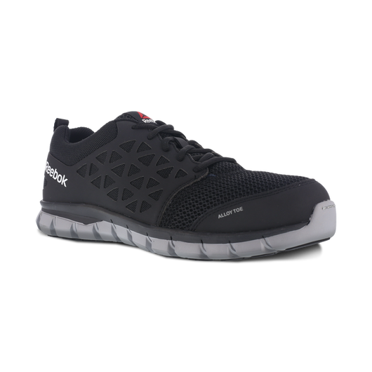 Reebok Men's Sublite Black Alloy Toe EH RB4041