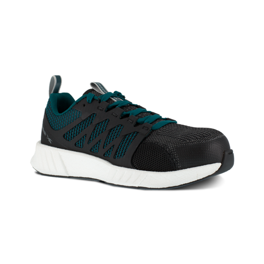 Reebok Women's Fusion Flexweave Teal Comp. Toe ESD RB314