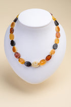 Multicolor Baltic Amber Necklace
