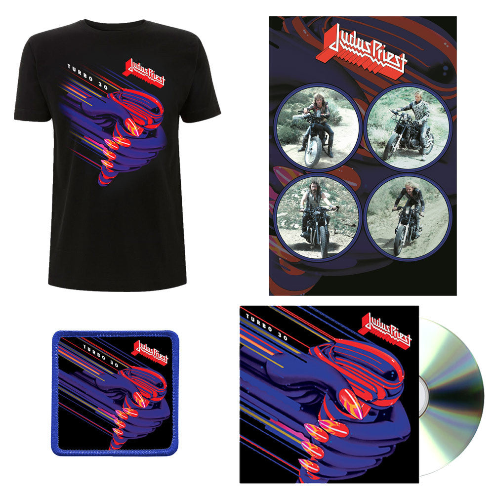 Turbo 30 - 3CD + Print + T-Shirt + Patch