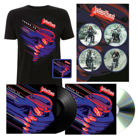 Turbo 30 - 3CD + LP + Print + T-Shirt + Patch