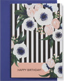 Happy Birthday Anemone Card