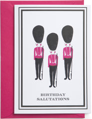 Birthday Salutations Mini Card