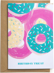 Birthday Treats Mini Card
