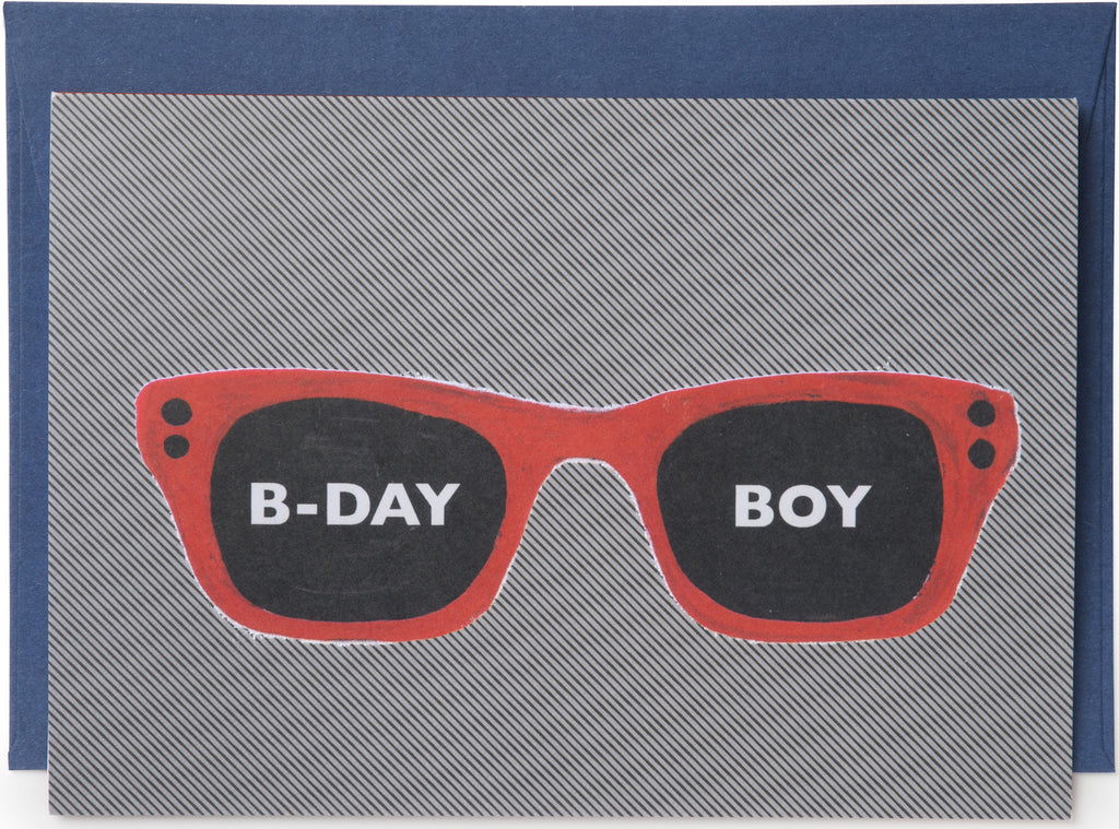 B-Day Boy Card