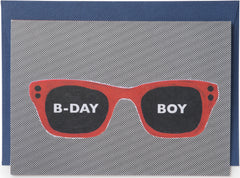 B-Day Boy Mini Card