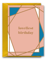 Loveliest Birthday Gem Card