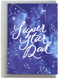 Super Star Dad Card