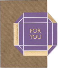For You Gem Card