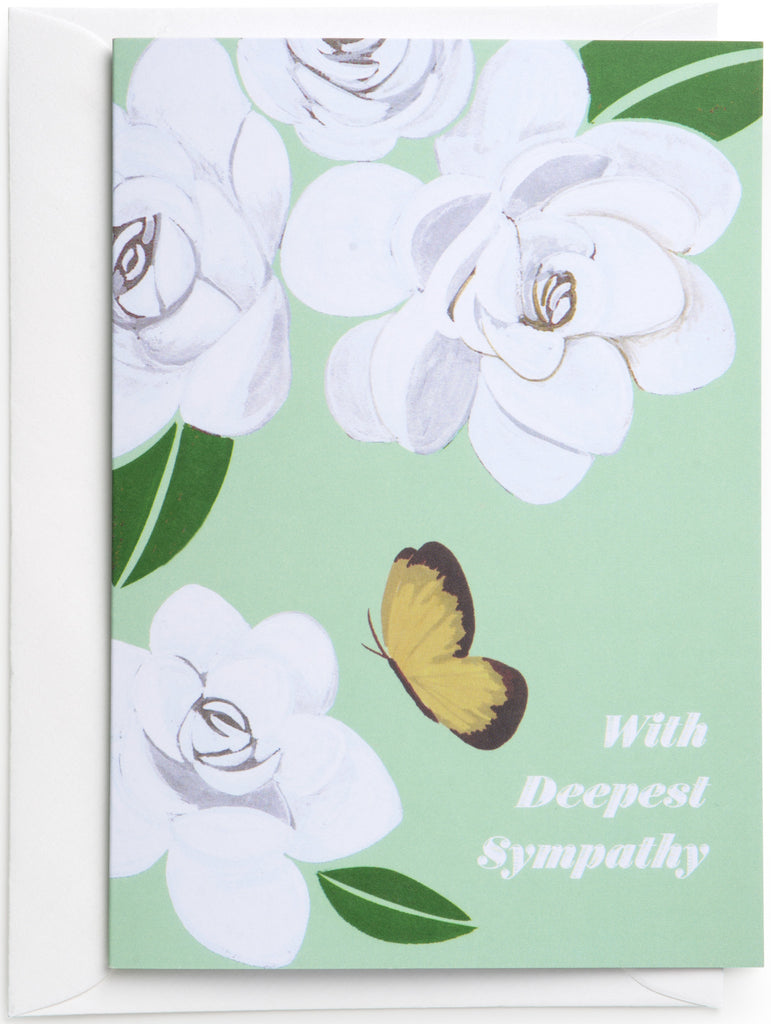 Butterfly Sympathy Mini Card