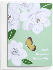 Butterfly Sympathy Card