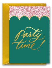 Party Time Scallops Card
