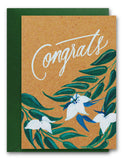 Congrats Bontanical Card