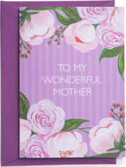 Floral Burst Mother's Day Card