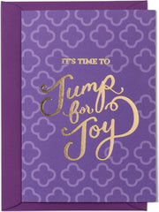 Jump for Joy Card