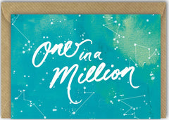 One in a Million Stars Card